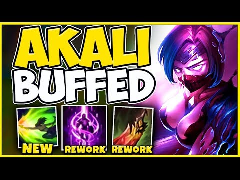 *AKALI UPDATE* RIOT CHANGED THEIR MINDS (NEW GAMEPLAY) - League of Legends