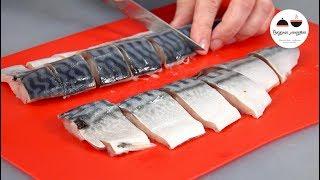 Так можно готовить любую рыбу, но СКУМБРИЯ получается вкуснее всего!