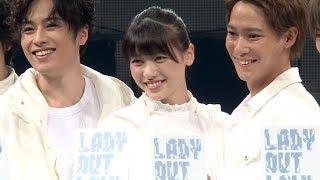 元℃-ute矢島舞美、主演舞台でハードなアクション