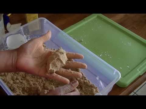 Moon Sand Recipe (with play sand)