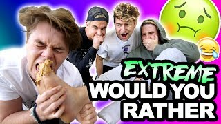 """EXTREME """"IN REAL LIFE"""" WOULD YOU RATHER"""