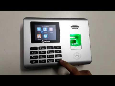 Z200B Fingerprint Time Attendance System
