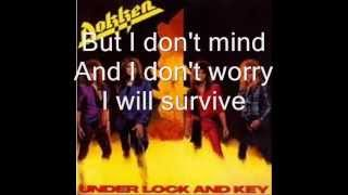 dokken breaking the chains lyrics