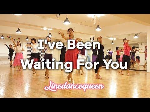 I've Been Waiting For You Line Dance(Improver) Alison Johnstone & Joshua Talbot