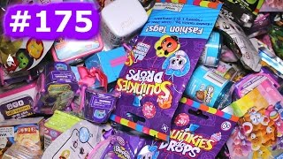 Random Blind Bag Box Episode #175 - Pusheen, Num Noms, BFFs, Minecraft, Shopkins Fashion Spree
