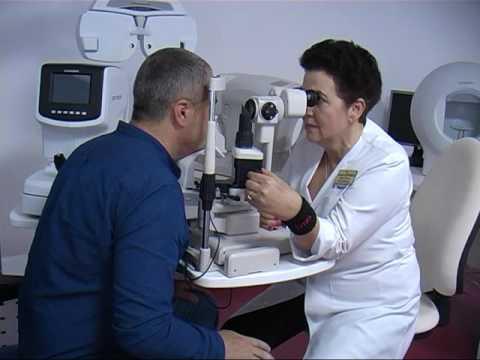Serviciul oftalmologic din oraș