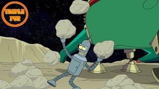#Футурама 18+ Бендер на луне! best Fun