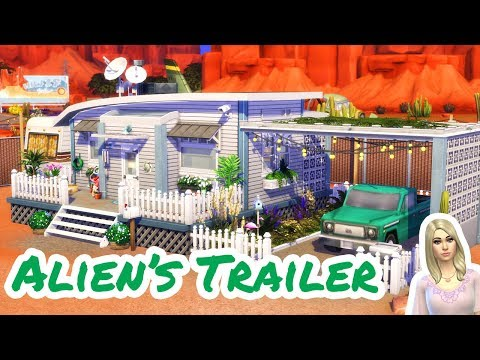 Download Alien House The Sims 4 Speed Build Video 3GP Mp4 FLV HD Mp3