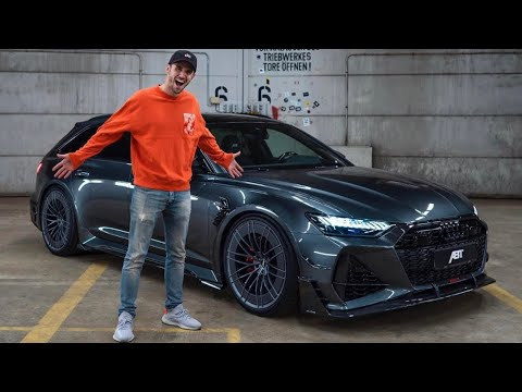 Formula E's Daniel Abt & His NEW Audi RS6-R!