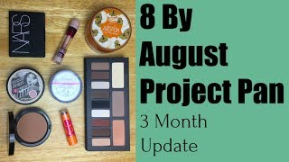 Project Pan | 8 By August | 3 Month Update