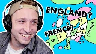 We Draw the New Map of Europe