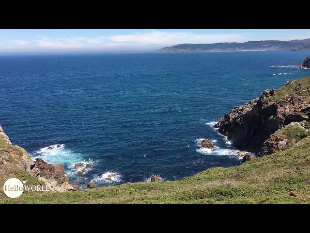 Aussicht an der Costa da Morte Richtung Finisterre