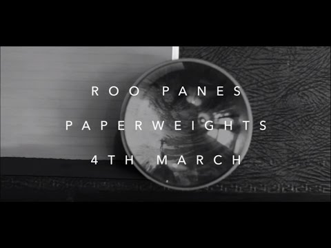 Video Roo Panes - Paperweights (album trailer)