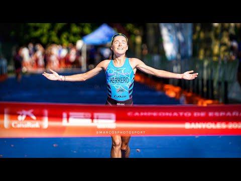 Paula Herrero (TeamClaveria) campeona de España de Triatlón Olímpico TRIATLONSP paula_swimmer nautico_naron