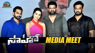 Saaho Movie Team Press Meet | Prabhas | Shraddha Kapoor | NTV Entertainment