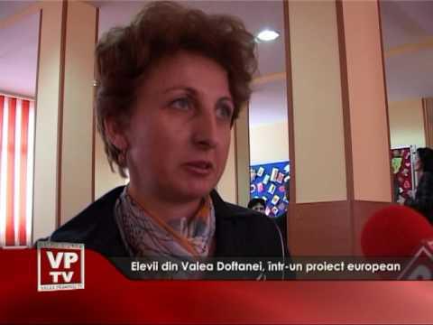 Elevi din Valea Doftanei, într-un proiect european