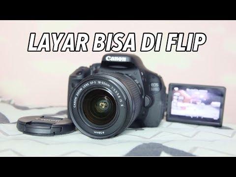 Kamera Flip DSLR pertama simini buat TUTORIAL VLOGGER - Canon 600D #Review20
