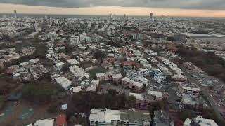 DJI FPV DRONE FOOTAGE (4K): M Mode Control Practice