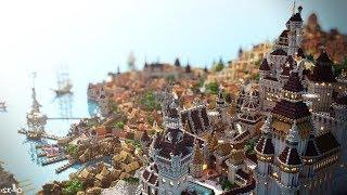 [Minecraft Timelapse] Novigrad - By ElysiumFire + DOWNLOAD