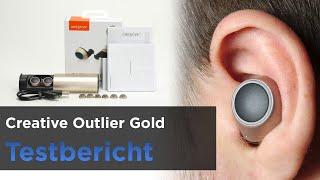 Creative Outlier Gold im Test - InEar Bluetooth-Kopfhörer mit hoher Laufzeit und App