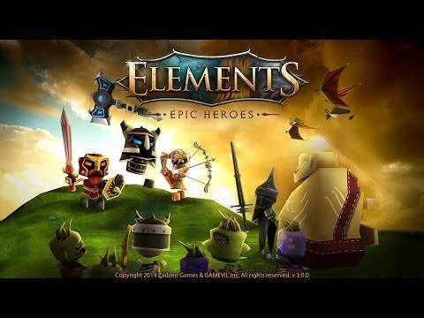 Elements: Epic Heroes - iOS / Android - HD (Sneak Peek) Gameplay Trailer