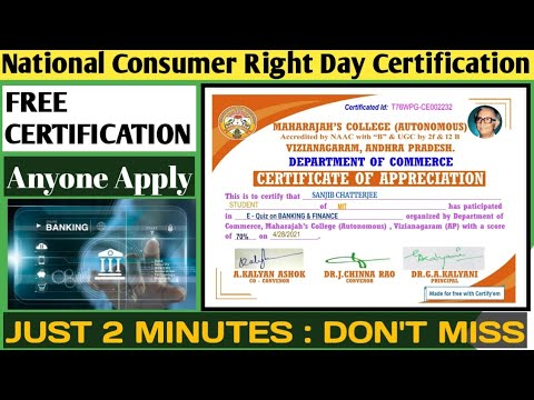 Banking and Finance Free Online Course With Certificate - YouTube