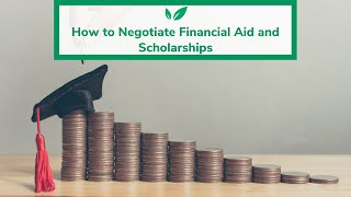 How to Negotiate Financial Aid