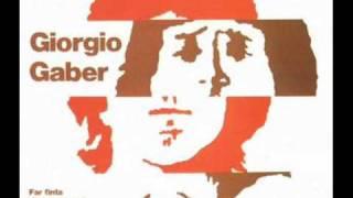 Giorgio Gaber - Un'emozione
