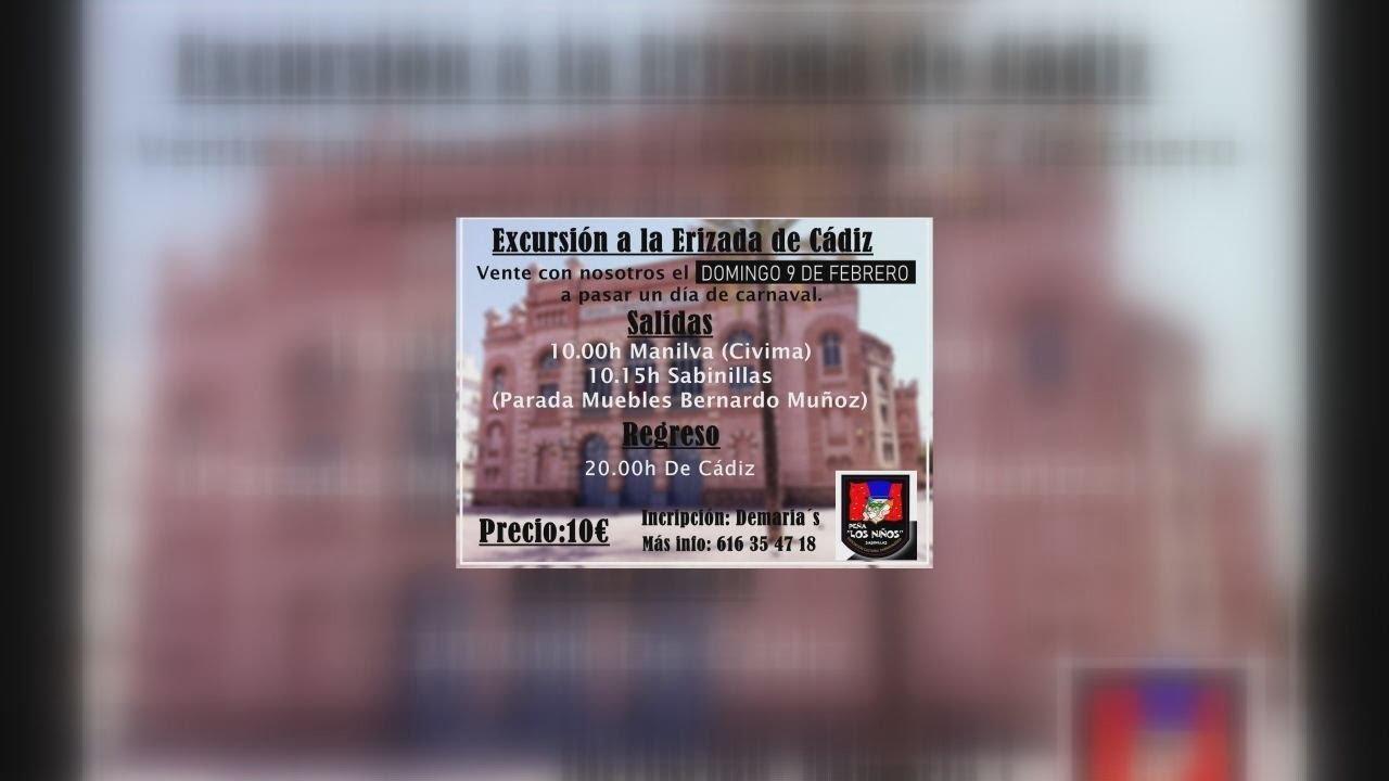 CAMBIO DE FECHA PARA LA ERIZADA DEL CARNAVAL DE CÁDIZ