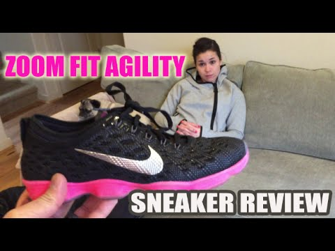 Nike Zoom Fit Agility Review w/ Wife: Not Good For Crossfit.