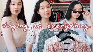 Trying On Everything In My Closet: Summer Edition ☀️