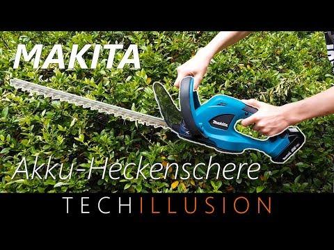 🛠MAKITA Akku Heckenschere DUH523 im Test - Makita DUH523 Cordless  Hedge Trimmer - Review & Test