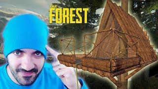 CONSTRUIMOS UNA CASA ÁRBOL ⭐️ The Forest #7 | iTownGamePlay