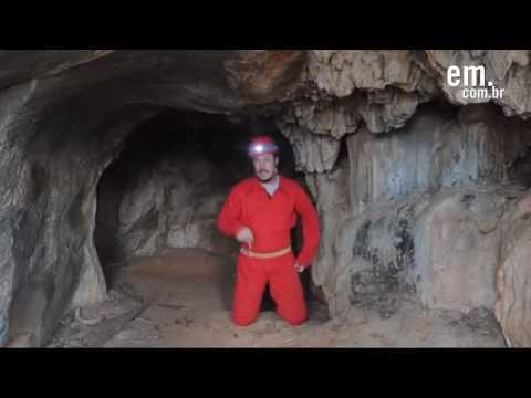 Gruta descoberta em 1835 reencontrada   Baldim