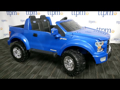 Power Wheels Ford F-150 Battery-Powered Ride-On Review | Fisher-Price Toys