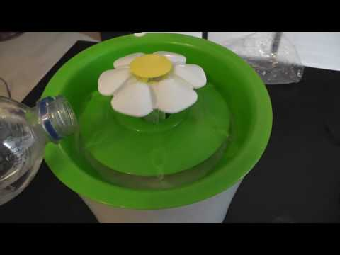 Let's Auspack Catit Senses 2.0 Blumentrinkbrunnen