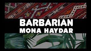 Mona Haydar -- Barbarian [OFFICIAL LYRICS ONLY VIDEO]