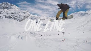 One fast line at Corvatsch by Torgeir Bergrem Page