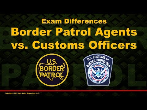 Exam Differences : Border Patrol Agents and CBP Officers - YouTube