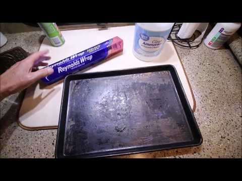 How to Clean a Baking Pan, Cookie Sheet or BBQ Grill - Part 1
