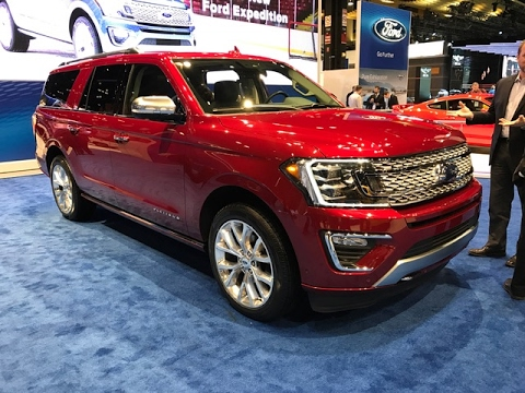 2018 Ford Expedition – Redline: First Look – 2017 Chicago Auto Show