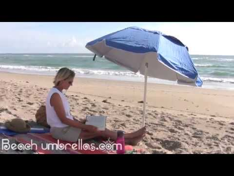 PortaBrella Beach Umbrella