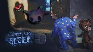СИМУЛЯТОР МАЛЫША 3  мы играем за маленькую девочку и мишку фредди Among the Sleep