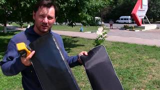 Мягкие накладки на лодочные сидения своими руками