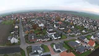 preview picture of video 'Borsum von oben - Nördlicher Dorfrand'