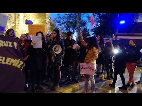 'Feminist Gece Yürüyüşü'