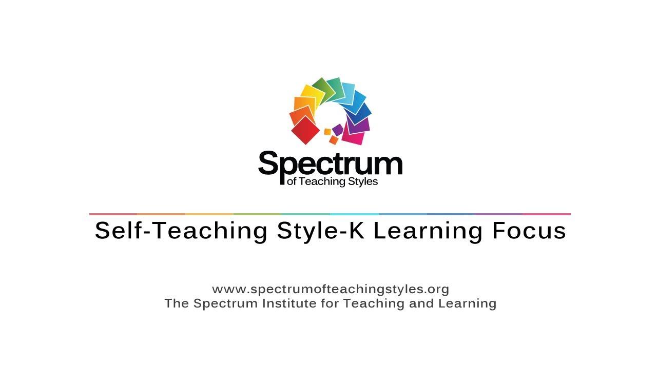 Self-Teaching Style-K Learning Focus's thumbnail
