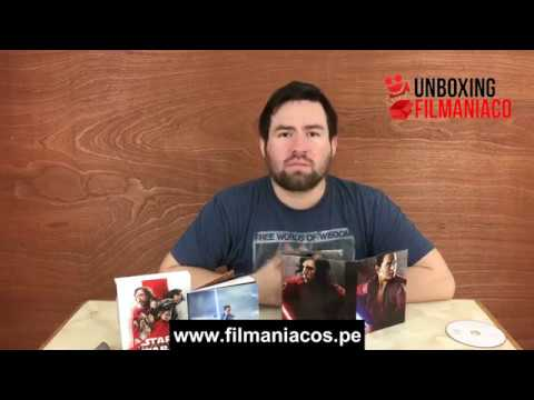 , title :'UNBOXING: Star Wars: Episode VIII – The Last Jedi (Digipack) [Blu-ray + DVD + Libro]'