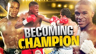 Young Floyd Mayweather's First Title Shot Against Genaro Hernandez & Surprises the Boxing World