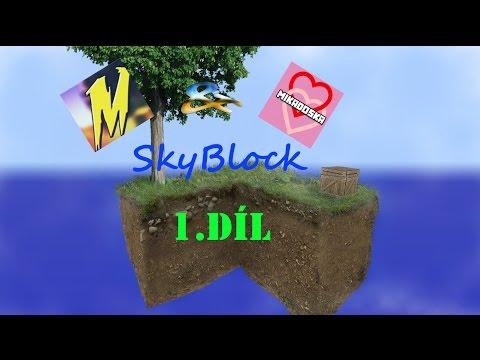 [Miko&Laura] Skyblock 1 Díl
